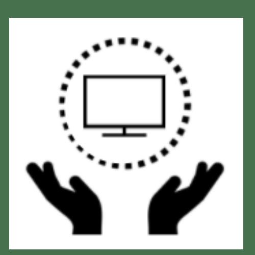 ikona - cztery osoby - okrąg